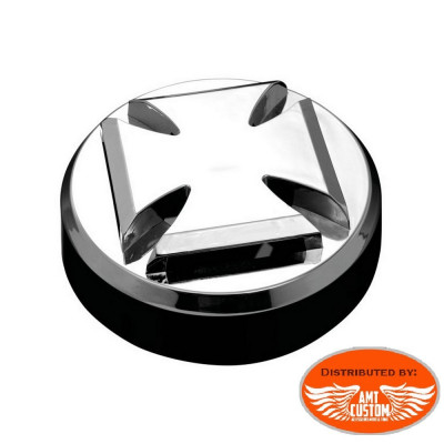 Maltese Cross Horn grill chrome Motorcycles