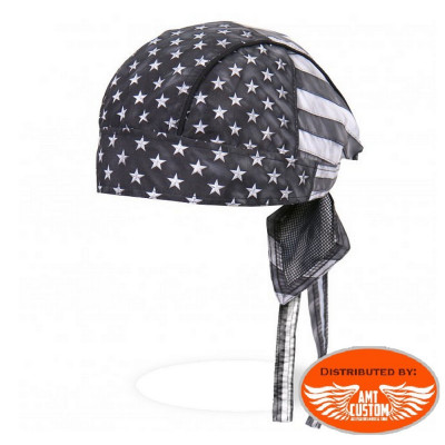 Black & White Flag US Bandana Zandan