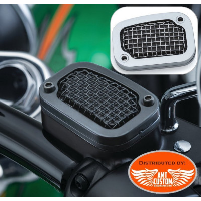Softail break master cylinder covers Chrome or Black