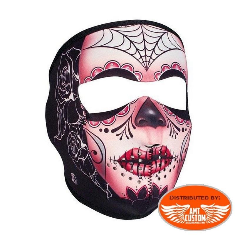 Skull Blue Devil Neoprene Mask