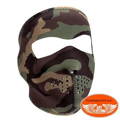 Masque néoprène Camouflage Militaire.