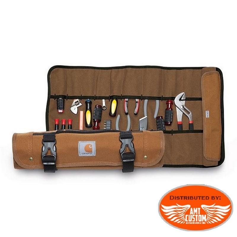 Brown Leather Brute Tool Bag - Motorcycle Tool Kit