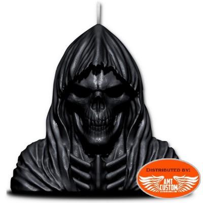 Bougie Faucheuse avec sculpture métal Skull.