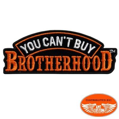 Skull Brotherhood patch biker jacket vest