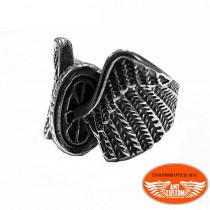 Skull Vtwin Ring motorcycles custom