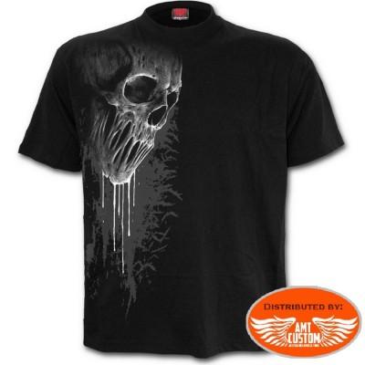 Tee shirt Biker Tête de mort