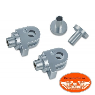2 Adapters Footpegs Triumph