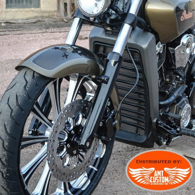 Indian Scout Radiator Covers Motorcycles