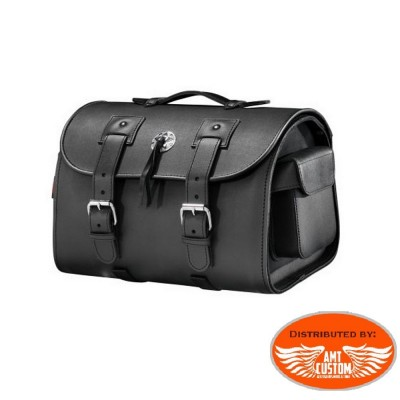 Sacoche sissy bar Valise Top Case concho moto