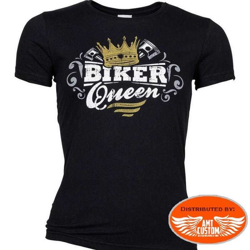 """T-shirt femme """"Biker Queen"""" - Lady Rider"""