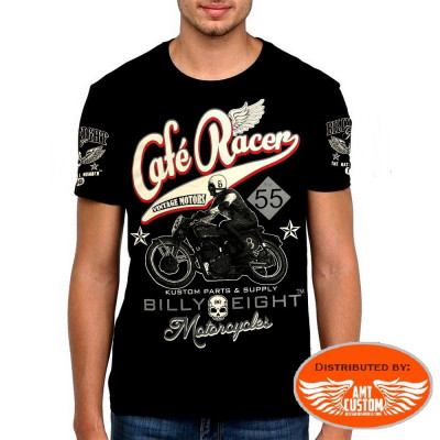 T-Shirt Billy Eight Moto Café Racer
