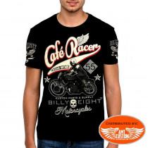 T-Shirt Billy Eight Moto Café Racer