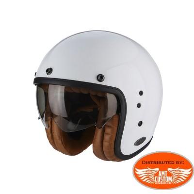 Exo-Combat Solid Black Scorpion Helmet - Custom Motorcycle