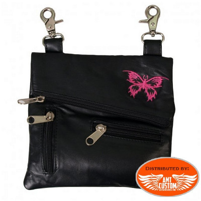 Sacoche bandoulière pochette Papillon Lady Rider