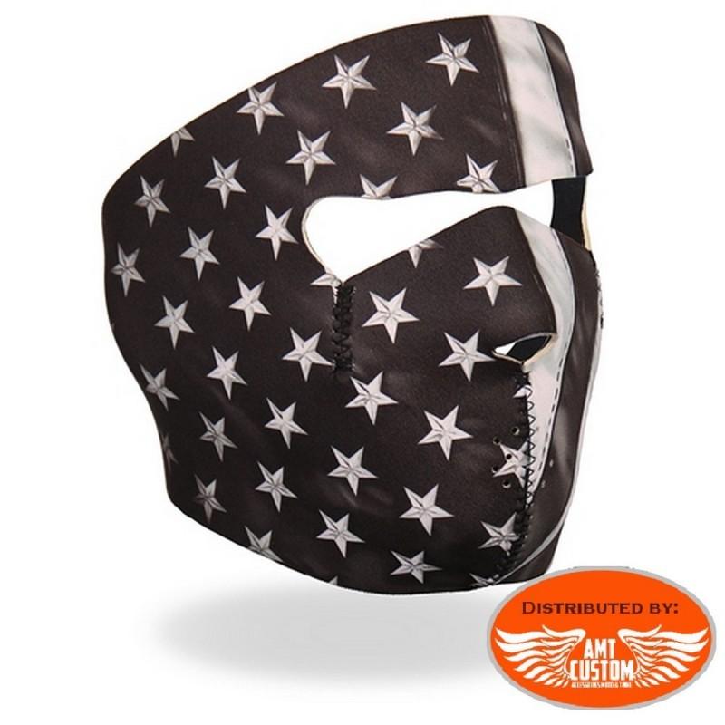 Neoprene biker mask Military camouflage.