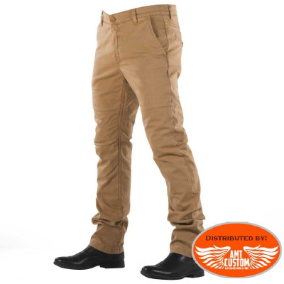 Pantalon jeans Chino Camel homologué homme