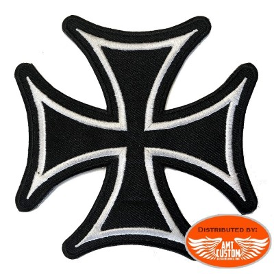 Patch écusson Biker Croix de Malte