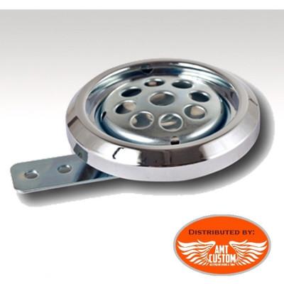 Disc Horn 84mm 12V DC Universal chrome