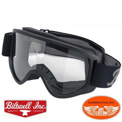 Masque lunettes Biltwell Biker Moto custom