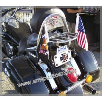 "Drapeau Biker Aigle ""Live To Ride"" fanion moto trike custom Harley"