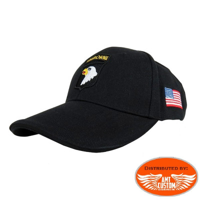 Eagle flag US ball Cap biker