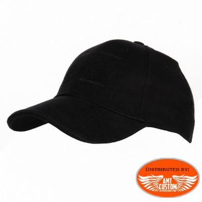 Biker Custom Customizable Black Cap
