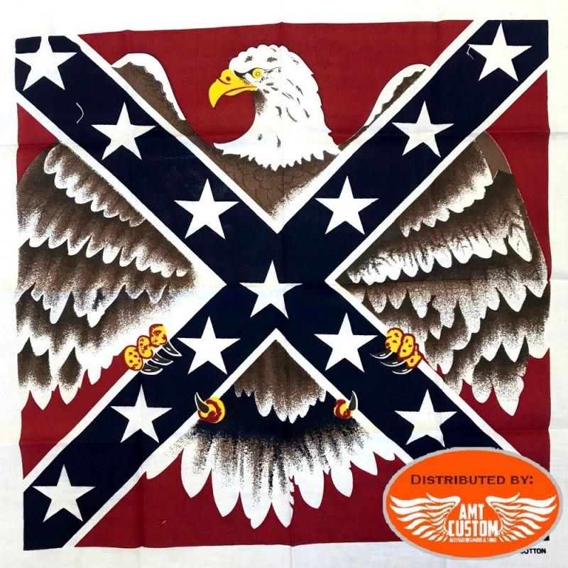Bandana rebel flag eagle deployed