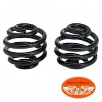 "Black Spring Set for Old School seats - Old School Motorcycles Kustom, Choppers, Bobber, Harley Davidson - 3"" and 4"""
