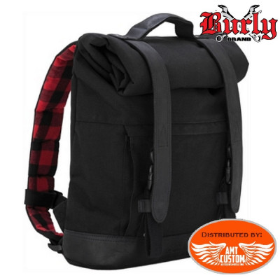 Montain biker fabric backpack