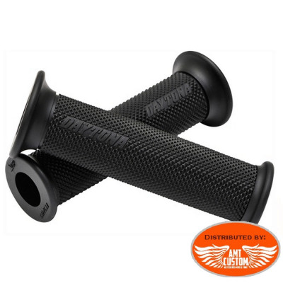 "22mm (7/8"") Black Rubber grips"