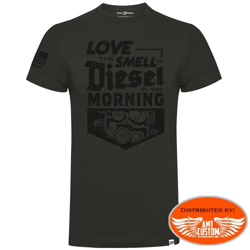 "Tee-shirt Diesel Power Gear ""Smell of Diesel"""