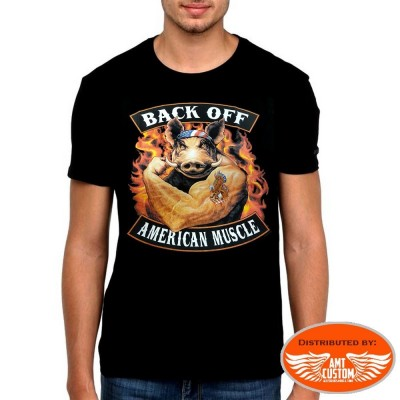 Pig American Muscle Tee Shirt
