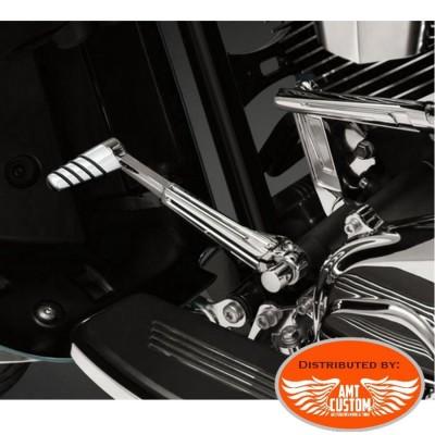 2 Embouts selecteur vitesse chrome Universel M8 Honda Yamaha Kawasaki Suzuki