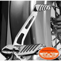 Embout pédale de frein chrome Universel M8 Honda Yamaha Kawasaki Suzuki