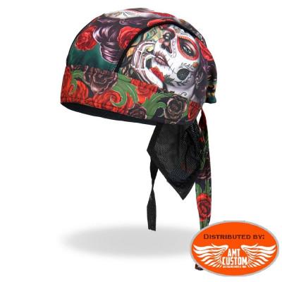 Zandana Lady Rider Muerta & Roses.