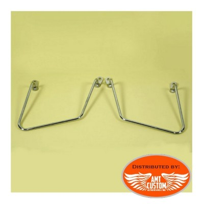 Hyosung Aquila GV650 Saddlebags mounting set support carrier