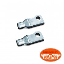 Sportster Pegs Tapered Adapters Kuryakyn for Harley Davidson XL1200 Forty Eight Seventy Two Custom