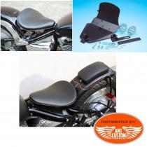 Yamaha 650 Kit fixation selle solo pour Bobbers XVS Dragstar et V-Star 650