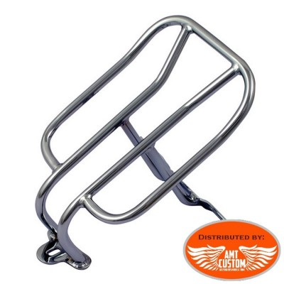 Sportster Chrome Rack Luggage long for Harley Sportster XL883 and XL1200 from 1994 to today