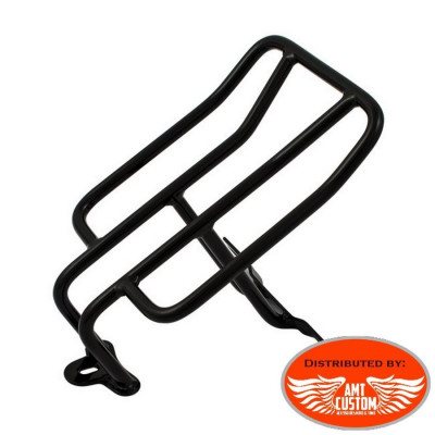 Sportster Black Rack Luggage long for Harley XL883 and XL1200 from 1976 to 1993