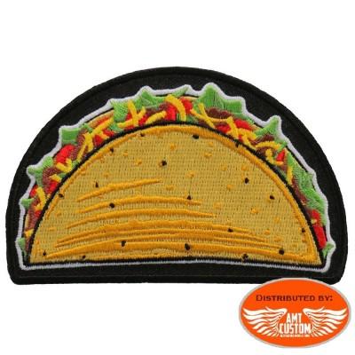 Patch écusson Tacos Mexicain.