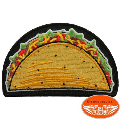 Tacos biker patch.