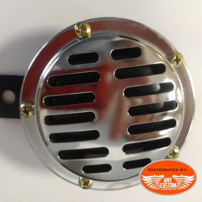 Disc Horn 89mm 12V DC Universal chrome