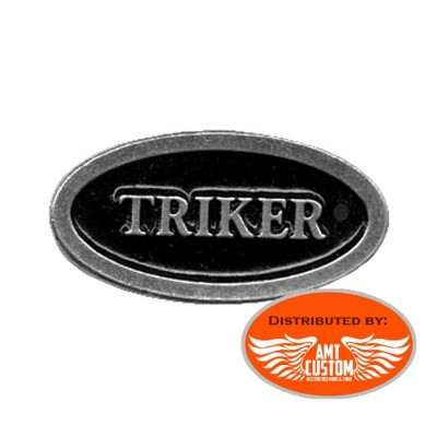 Pin's Biker métal TRIKER