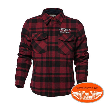 Veste Bûcheron West Coast Choppers Biker