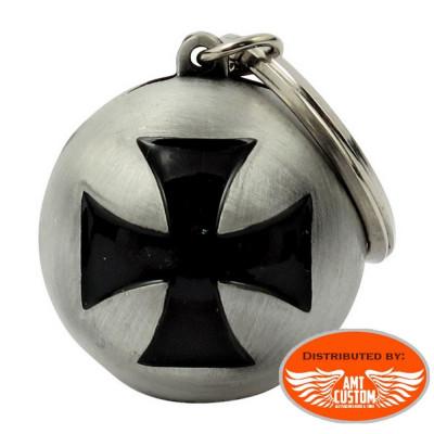 Ryder ball Maltese Cross motorcycles custom