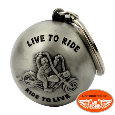 Ryder ball Live to Ride motorcycles custom