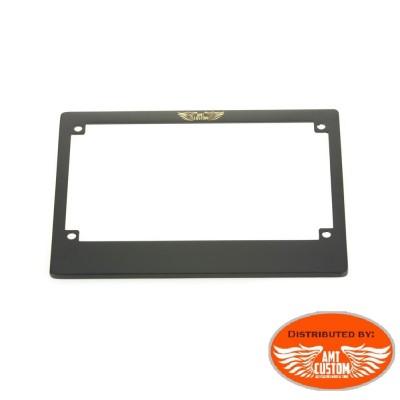 France - Entourage plaque immatriculation noir homologué CE