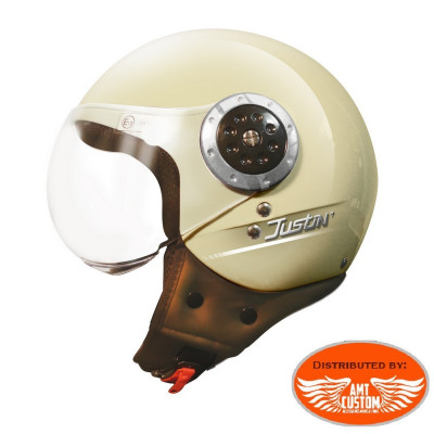 Cream Helmet TORX Justin CE approved