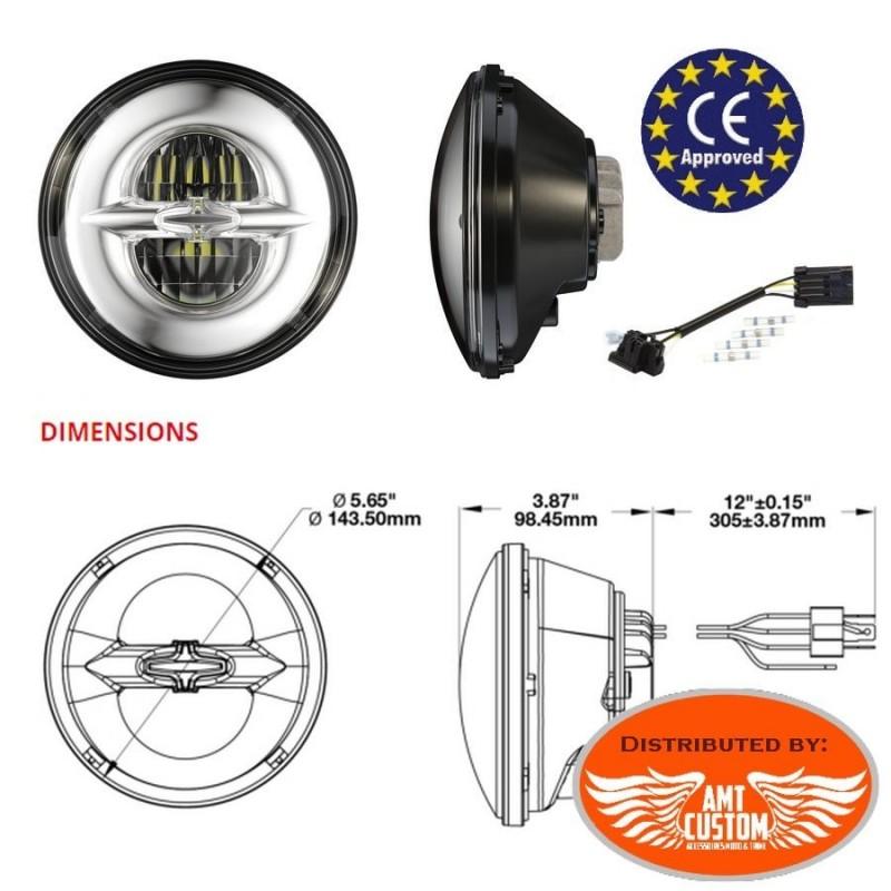 LANGRMS Interrupteur de phare de moto avec variateur dintensit/é double flash rotatif /à un seul bouton compatible avec scooter GY6 50 cc 125 cc 150 cc couleur : A